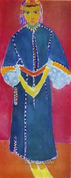 Henri Matisse Painting - Moroccan Woman Zorah Standing abstract fauvism Henri Matisse