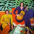Music abstract fauvism Henri Matisse