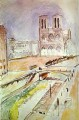 NotreDame abstract fauvism Henri Matisse