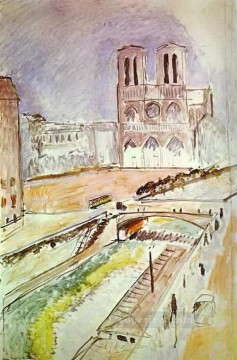 fauvism works - NotreDame abstract fauvism Henri Matisse