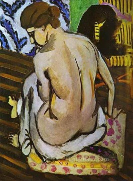 fauvism - Nude Back 1918 abstract fauvism Henri Matisse