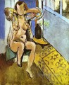 Nude Spanish Carpet abstract fauvism Henri Matisse