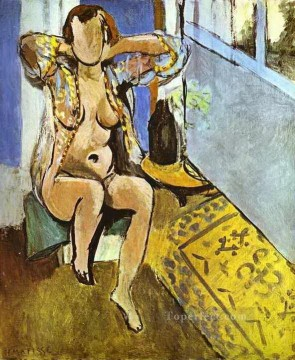 fauvism - Nude Spanish Carpet abstract fauvism Henri Matisse