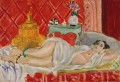 Odalisque Harmony in Red nude 1926 abstract fauvism Henri Matisse