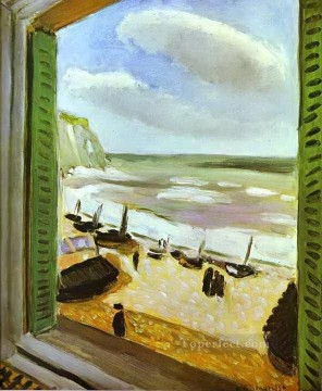 Henri Matisse Painting - Open Window beach scene abstract fauvism Henri Matisse