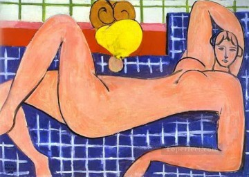 fauvism - Pink Nude abstract fauvism Henri Matisse