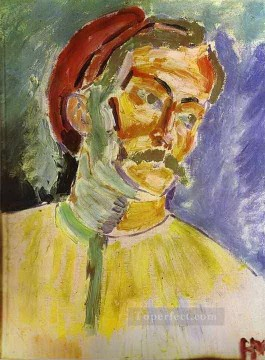 Henri Matisse Painting - Portrait of Andre Derain abstract fauvism Henri Matisse