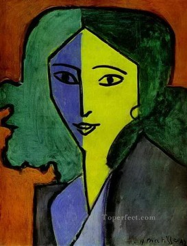 fauvism works - Portrait of Lydia Delectorskaya the Artist s Secretary abstract fauvism Henri Matisse