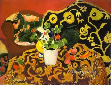 Henri Matisse Painting - Spanish Still Life Seville II abstract fauvism Henri Matisse