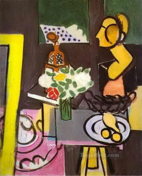 fauvism works - Still Life with a Head abstract fauvism Henri Matisse