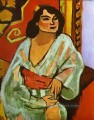The Algerian Woman abstract fauvism Henri Matisse