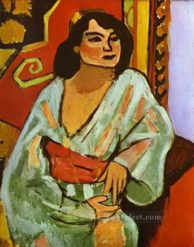 Henri Matisse Painting - The Algerian Woman abstract fauvism Henri Matisse