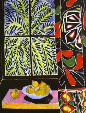 Henri Matisse Painting - The Egyptian Curtain abstract fauvism Henri Matisse