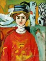 The Girl with Green Eyes 1908 abstract fauvism Henri Matisse