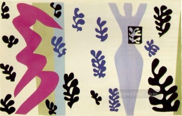 Henri Matisse Painting - The Knife ThrowerLe lanceur de couteaux Plate XV from Jazz abstract fauvism Henri Matisse