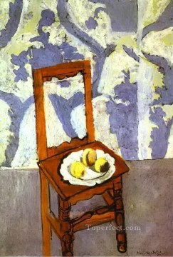 Chair Painting - The Lorrain Chair abstract fauvism Henri Matisse