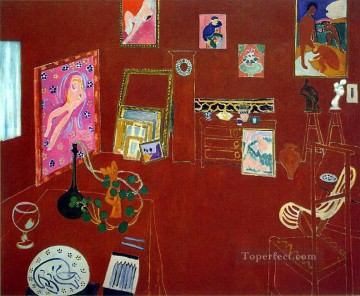 Henri Matisse Painting - The Red Studio abstract fauvism Henri Matisse