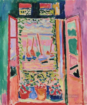 Henri Matisse Painting - The Window abstract fauvism Henri Matisse