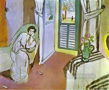 fauvism - Woman on a Sofa 1920 abstract fauvism Henri Matisse