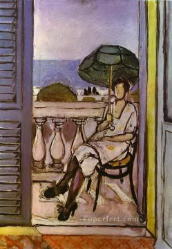 Henri Matisse Painting - Woman with Umbrella 1919 abstract fauvism Henri Matisse