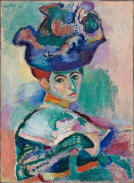 Henri Matisse Painting - Woman with a Hat 1905 abstract fauvism Henri Matisse