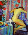 after bath nude Fauvism Henri Matisse abstract fauvism Henri Matisse