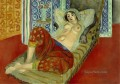 Odalisque with Red Culottes nude 1921 abstract fauvism Henri Matisse