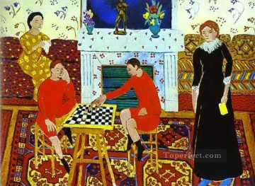Henri Matisse Painting - The Painter s Family 1911 abstract fauvism Henri Matisse