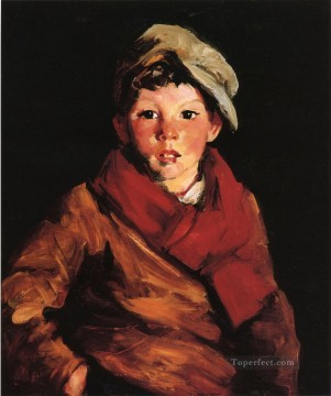 Henri Robert Painting - Cafferty portrait Ashcan School Robert Henri