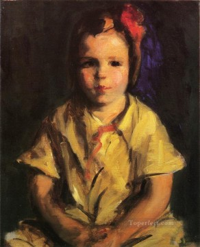 portrait Painting - Cointh Lovis Portrait of Faith portrait Ashcan School Robert Henri