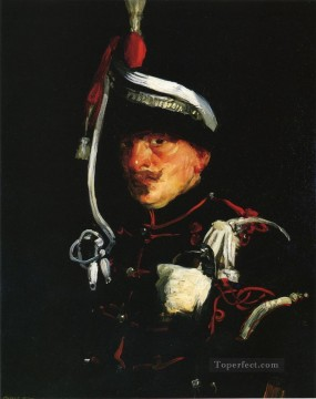Henri Robert Painting - Dutch Soldier portrait Ashcan School Robert Henri