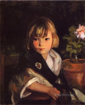 by Works - Portrait of Boby Ashcan School Robert Henri