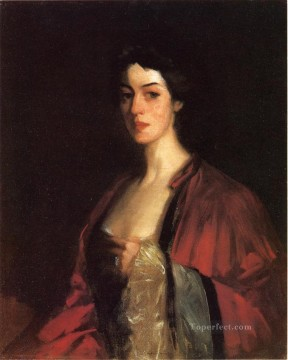 Henri Robert Painting - Portrait of Katherine Cecil Sanford Ashcan School Robert Henri