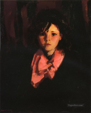 Henri Robert Painting - Portrait of Mary Ann Ashcan School Robert Henri