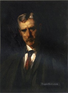 Henri Robert Painting - Portrait of Thomas Anschutz Ashcan School Robert Henri