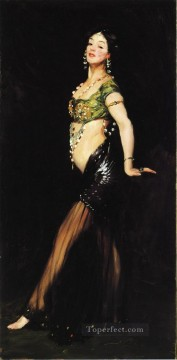 Henri Robert Painting - Salome portrait Ashcan School Robert Henri
