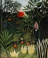 landscape with monkeys Henri Rousseau Post Impressionism Naive Primitivism