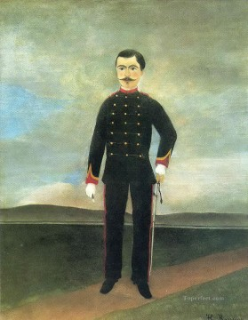 post impressionist Painting - marshal des logis frumence biche of the 35th artillery Henri Rousseau Post Impressionism Naive Primitivism