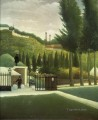 the toll house 1890 3  Henri Rousseau Post Impressionism Naive Primitivism