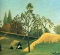 view of the fortifications Henri Rousseau Post Impressionism Naive Primitivism
