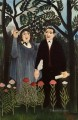 the muse inspiring the poet 1909 1 Henri Rousseau Post Impressionism Naive Primitivism