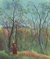 the walk in the forest 1890 Henri Rousseau Post Impressionism Naive Primitivism