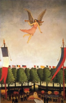 Henri Rousseau Painting - liberty inviting artists to take part in the 22nd exhibition of the society of independent 1906 Henri Rousseau Post Impressionism Naive Primitivism
