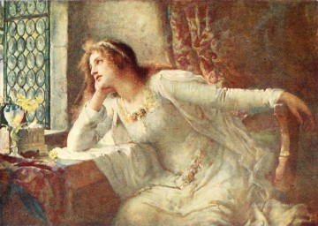 victorian - watching Henrietta Rae Victorian female painter