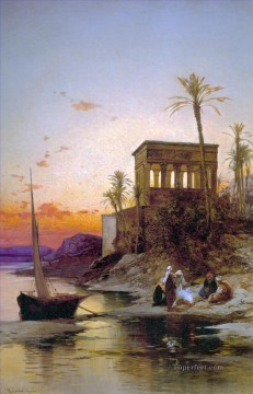 Hermann David Salomon Corrodi Painting - bonfire Hermann David Salomon Corrodi orientalist scenery