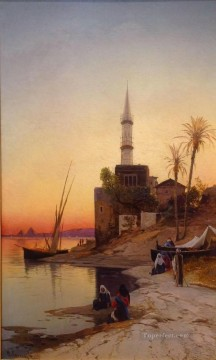 Hermann David Salomon Corrodi Painting - kiosque Hermann David Salomon Corrodi orientalist scenery