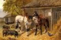 The Farmyard2 John Frederick Herring Jr horse