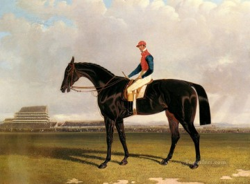 Lord Chesterfields Industry With William Scott Up At Epsom Herring Snr John Frederick horse Oil Paintings