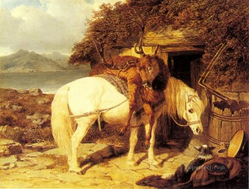 The End Of The Day Herring Snr John Frederick horse Oil Paintings