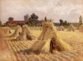 Corn Stooks Heywood Hardy